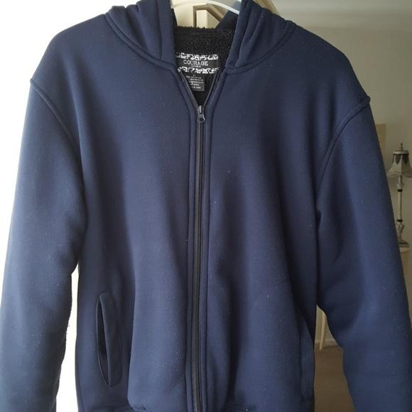 3dd2b6104e0b0 courage clothing co Jackets & Coats | Mens Heavyweight Hoodie | Poshmark